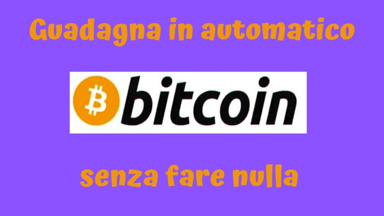 ho trovato un bitcoin)
