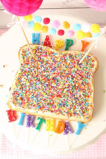 Munchkin Munchies: Fairy Bread Cake Sprinkles Collaboration