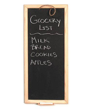 Take a look at this Tall Framed Chalkboard by Koyal Wholesale on ...
