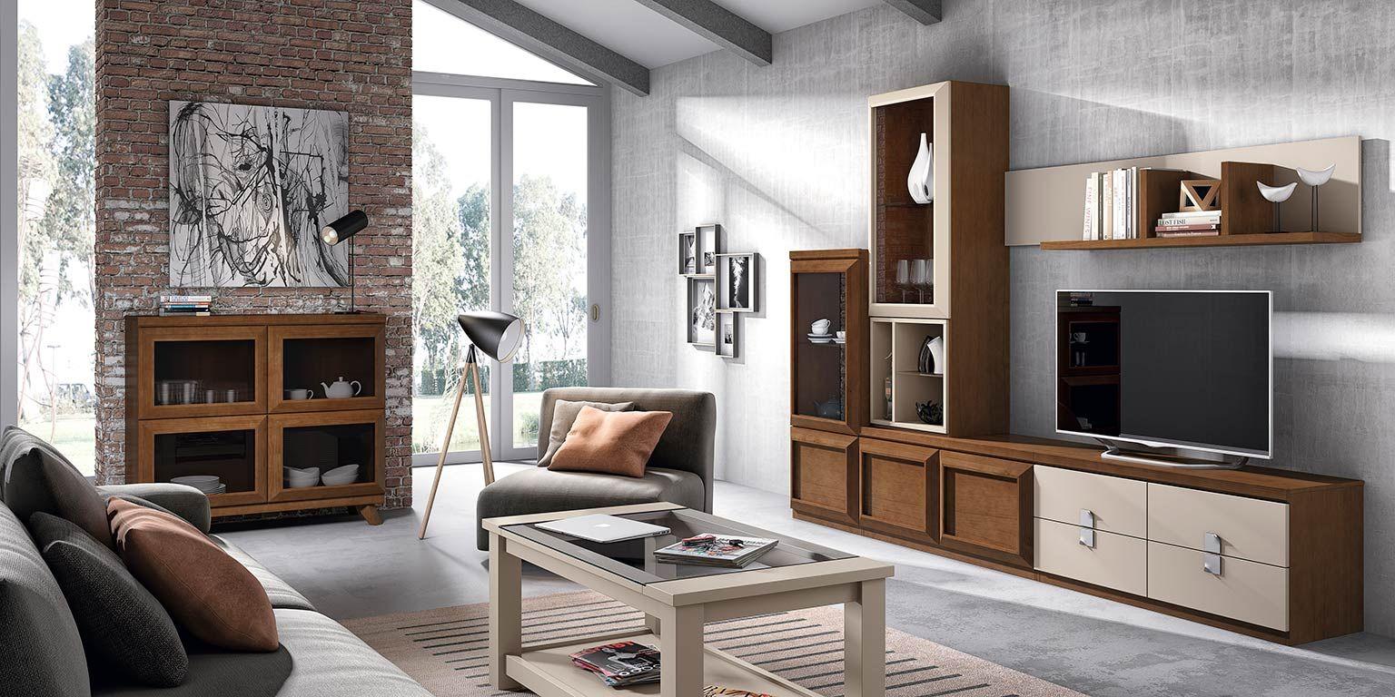 """""""TU HOGAR CON MUEBLES EN COLOR CEREZO"""" Para resaltar el mueble deberemos utilizar tonos crudos en su entorno ya sea en las paredes o textiles que utilicemos en... http://www.muebleslospedroches.com/blog/"""