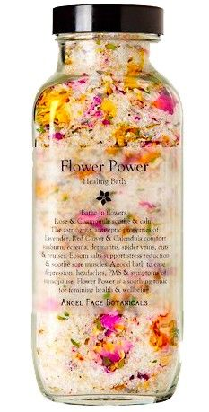 Flower Power Healing Bath