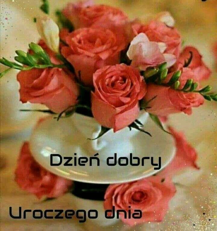Pin By Elzbieta Aleszczyk On Dzien Dobry Flower Wallpaper Happy Birthday Flowers