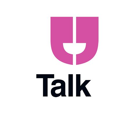 """Clean #logo #design for """"Talk Inc."""", a marketing, advertising and PR firm"""