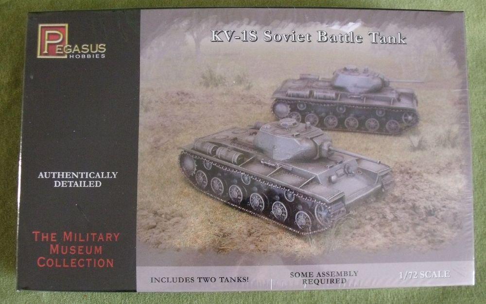 Pegasus Hobbies 1 72 Scale Twin Tank Model Kits Russian Soviet Kv1