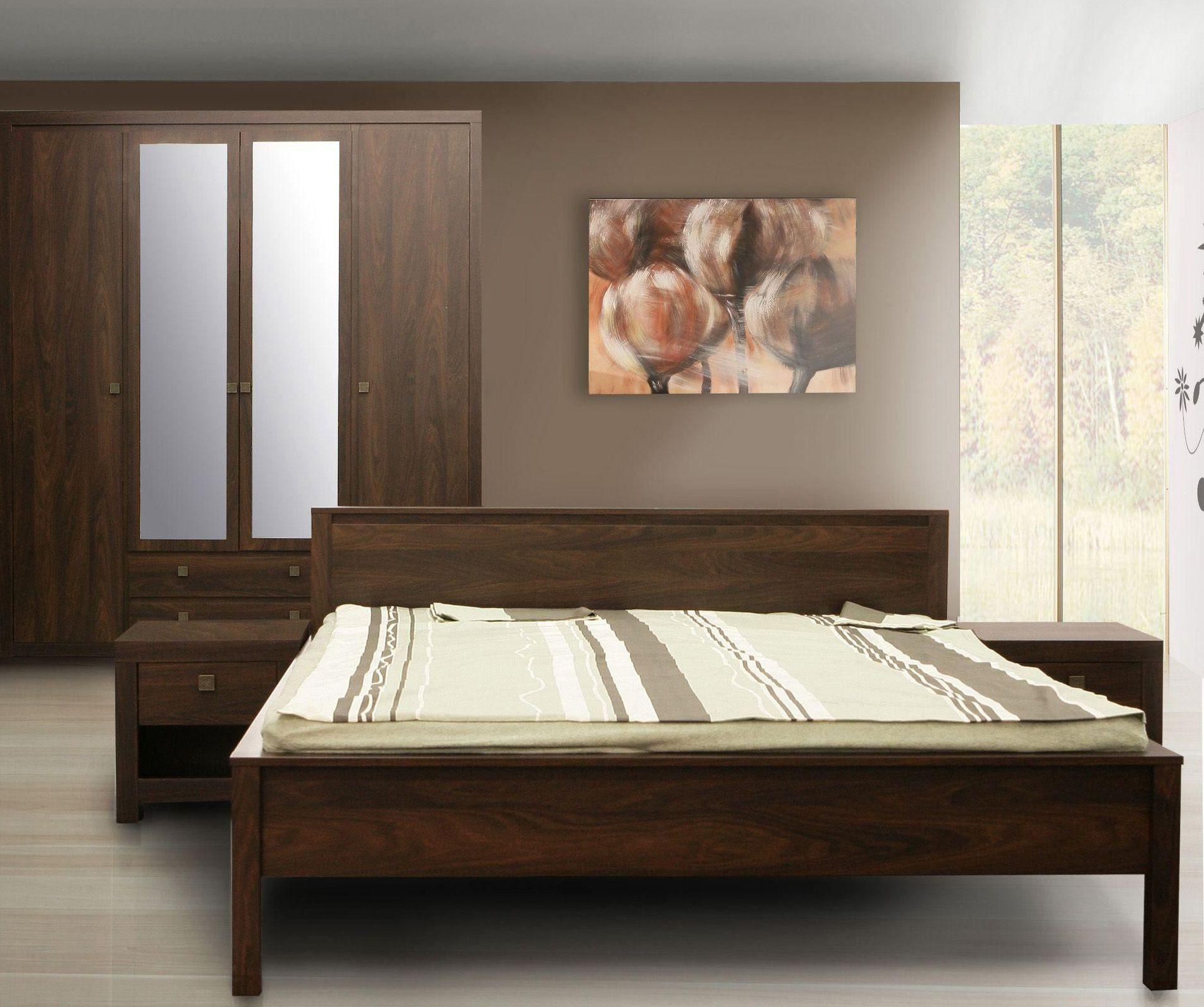 Schlafzimmer irma 4tlg passend zum schlafzimmer und garderobenprogramm irma in 2 verschiedenen farbvarianten