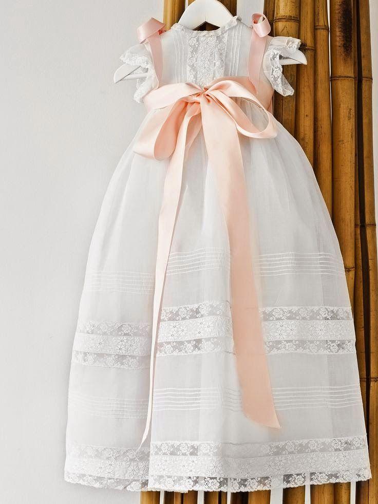 Pin de Tess Oliba en Bautizo | Ropa bebe, Vestidos para niñas y ...