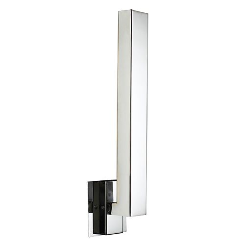 Altea 360 Led Bathroom Wall Light In Polished Chrome Ip44 Oval Lamp 15 6w 3000k 649lm Non Dimmable Wall Lights Bathroom Wall Lights Polished Chrome