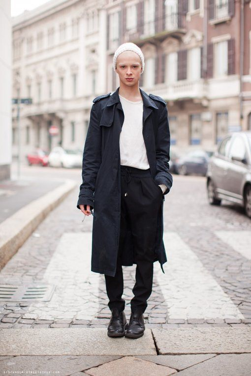 Scandinavian Street Style Menswear Trenchcoat Layerstory