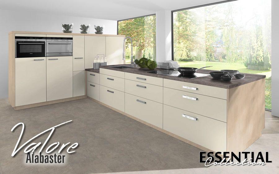 """Buy a Valore Alabaster kitchen online""""   Kitchen cabinet ..."""