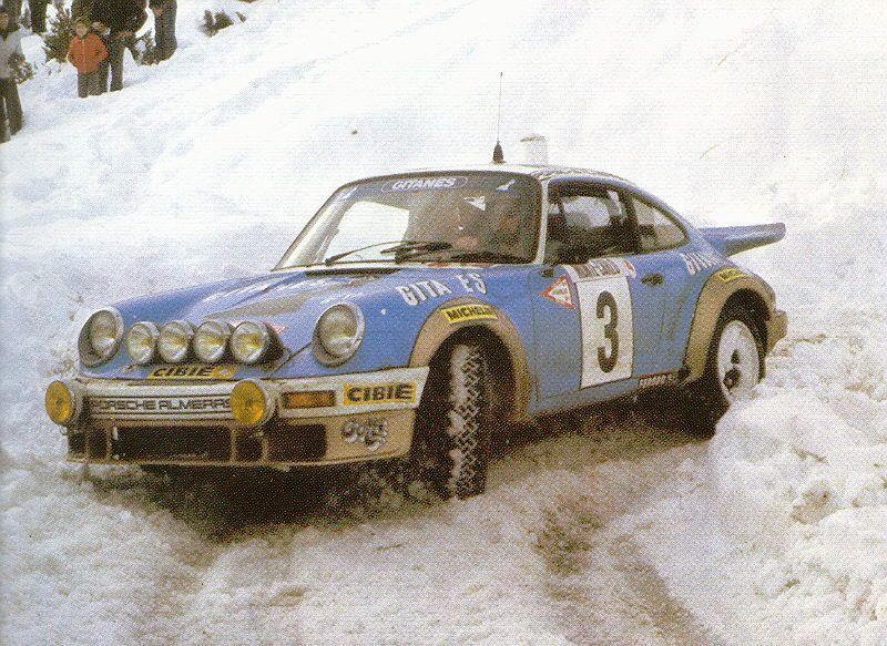 Αποτέλεσμα εικόνας για 1978 Porsche 911 SC: Monte Carlo Rally