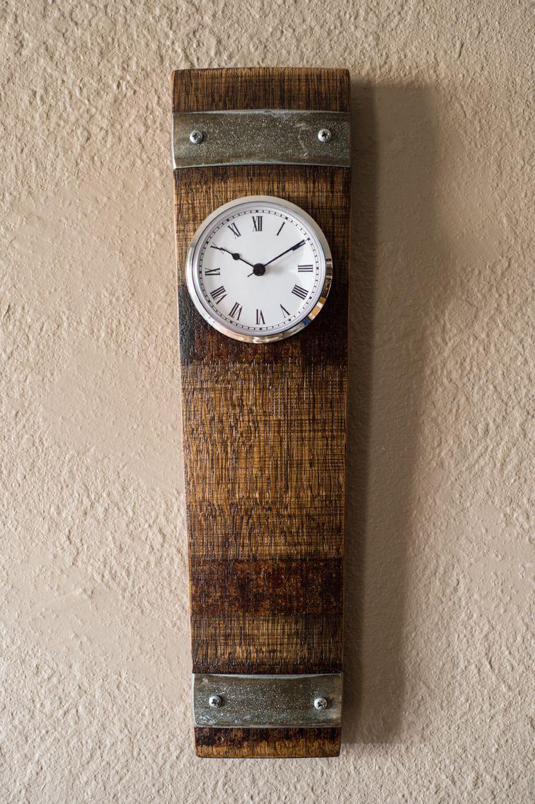 disegni attraenti doppio coupon vasto assortimento Napa Valley Wine Barrel Clock | orologi | Botti di vino e ...