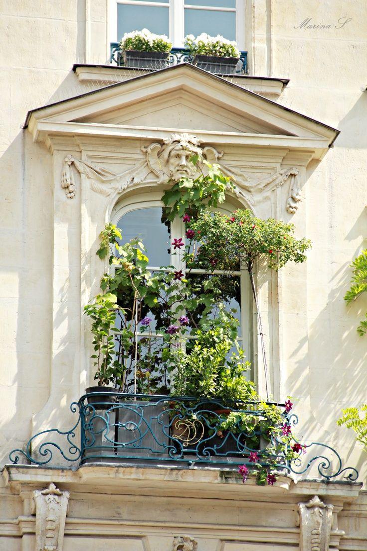 parisian balcony. Black Bedroom Furniture Sets. Home Design Ideas