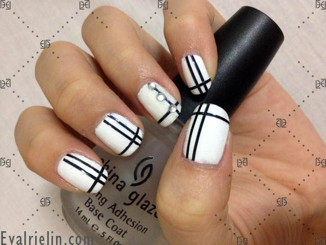 Evalrie Lin Mua Black Nail Designs Fashion Nails Elegant Nail Designs