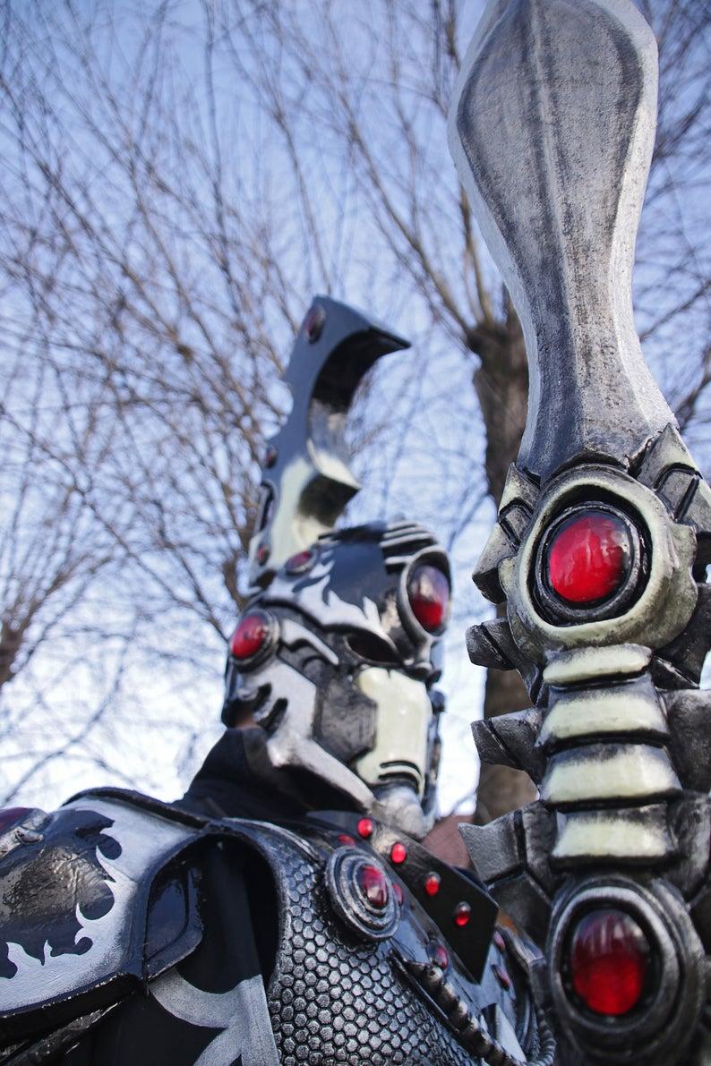 MADE TO ORDER - Warhammer 40k complete costume farseer eldar