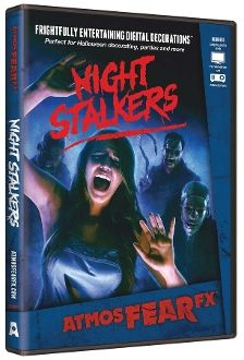 night stalkers animated digital illusions special effects fx dvd startle scare and entertain friends