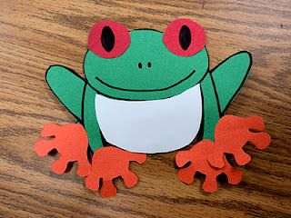 9 Red Eye Tree Frog Coloring Page