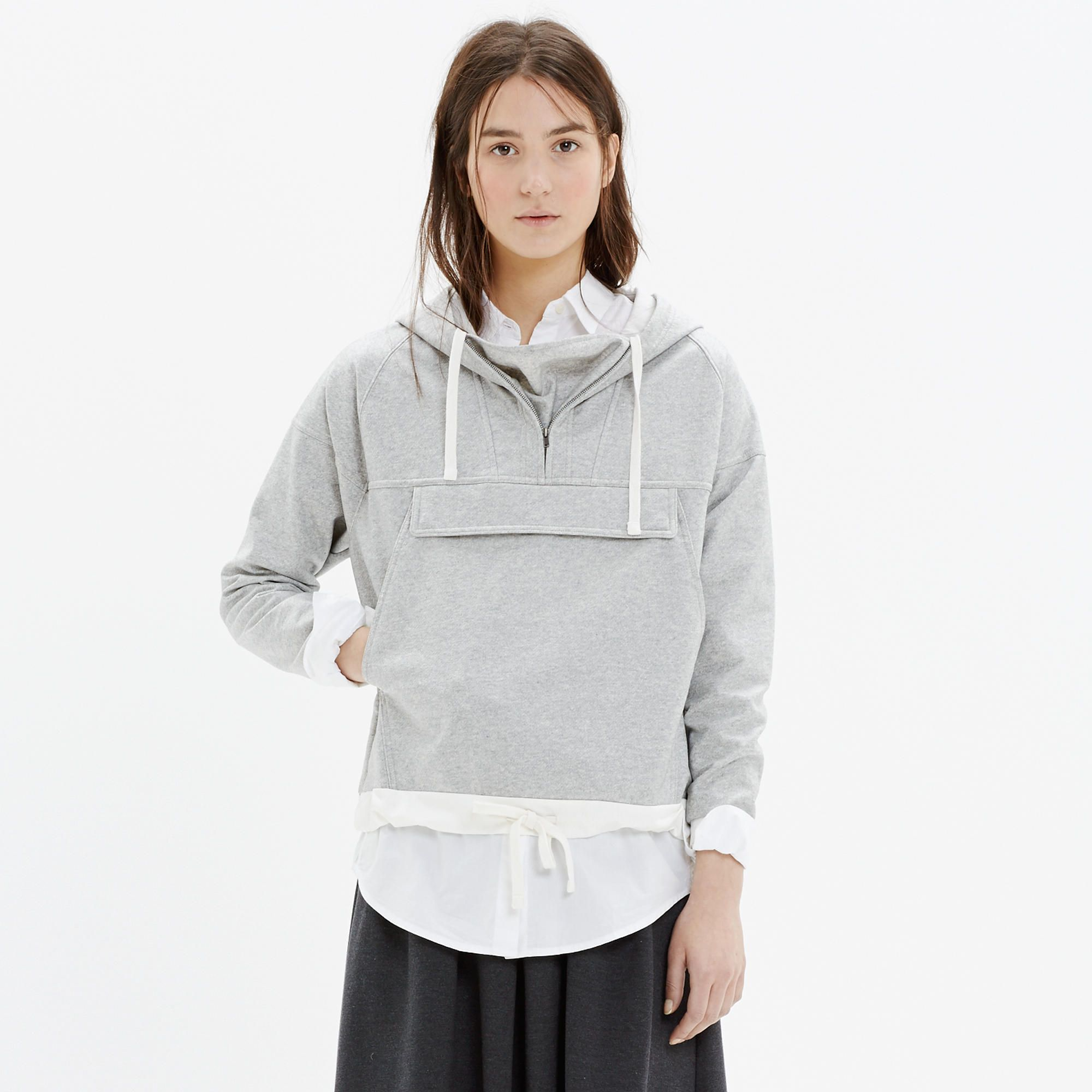Coated Windwake Hoodie : our current favorites | Madewell