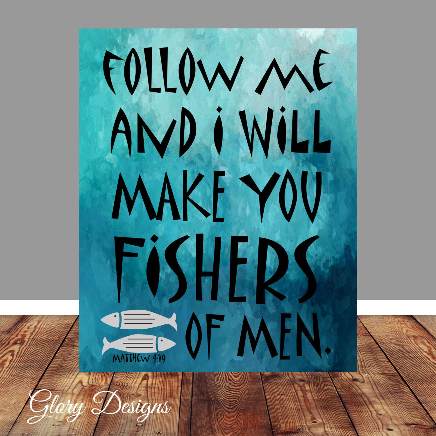 Bible verse bible verse printable scripture art for Fish in the bible