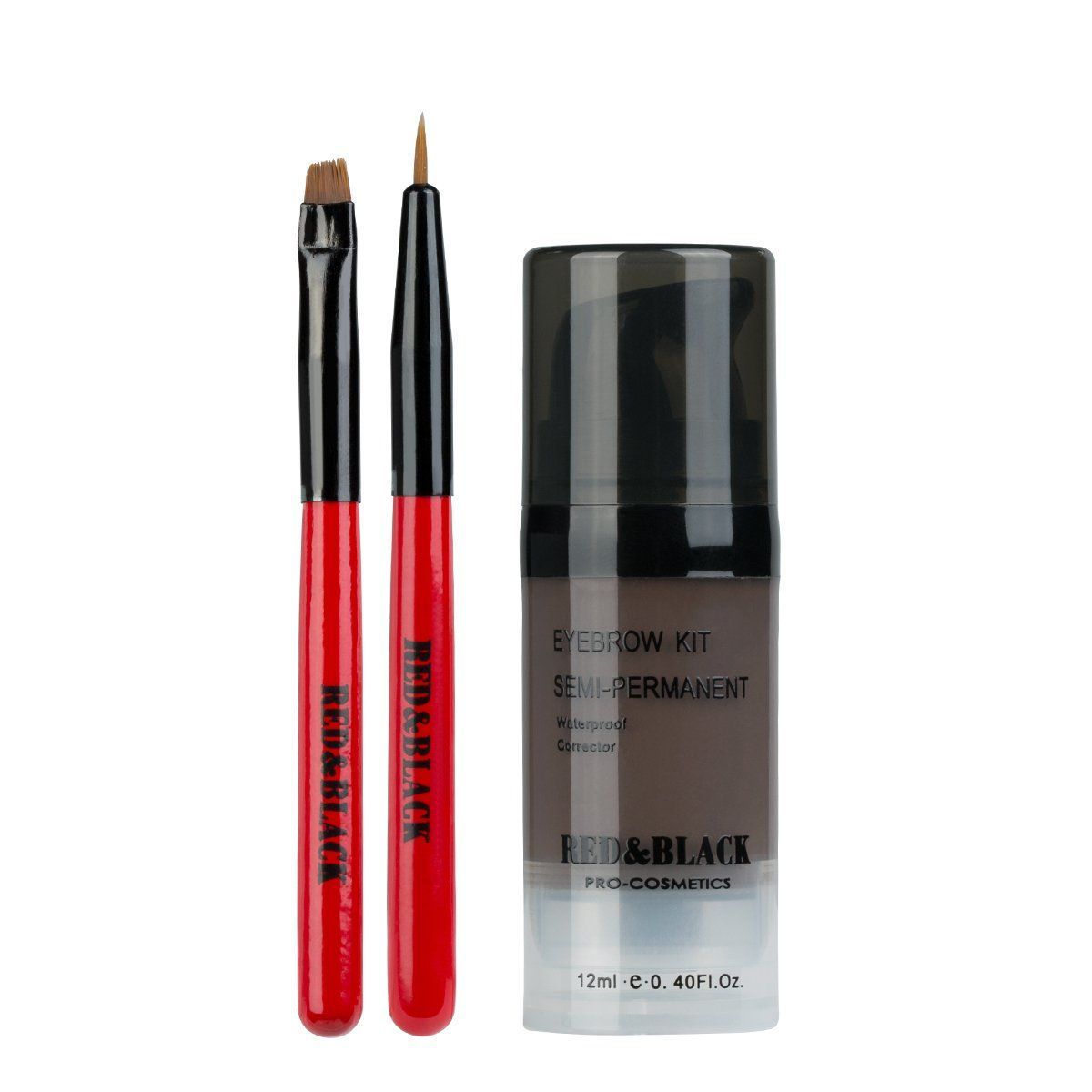 Redblack Semi Permanent Eyebrow Cream Kit Long Lasting Tinted