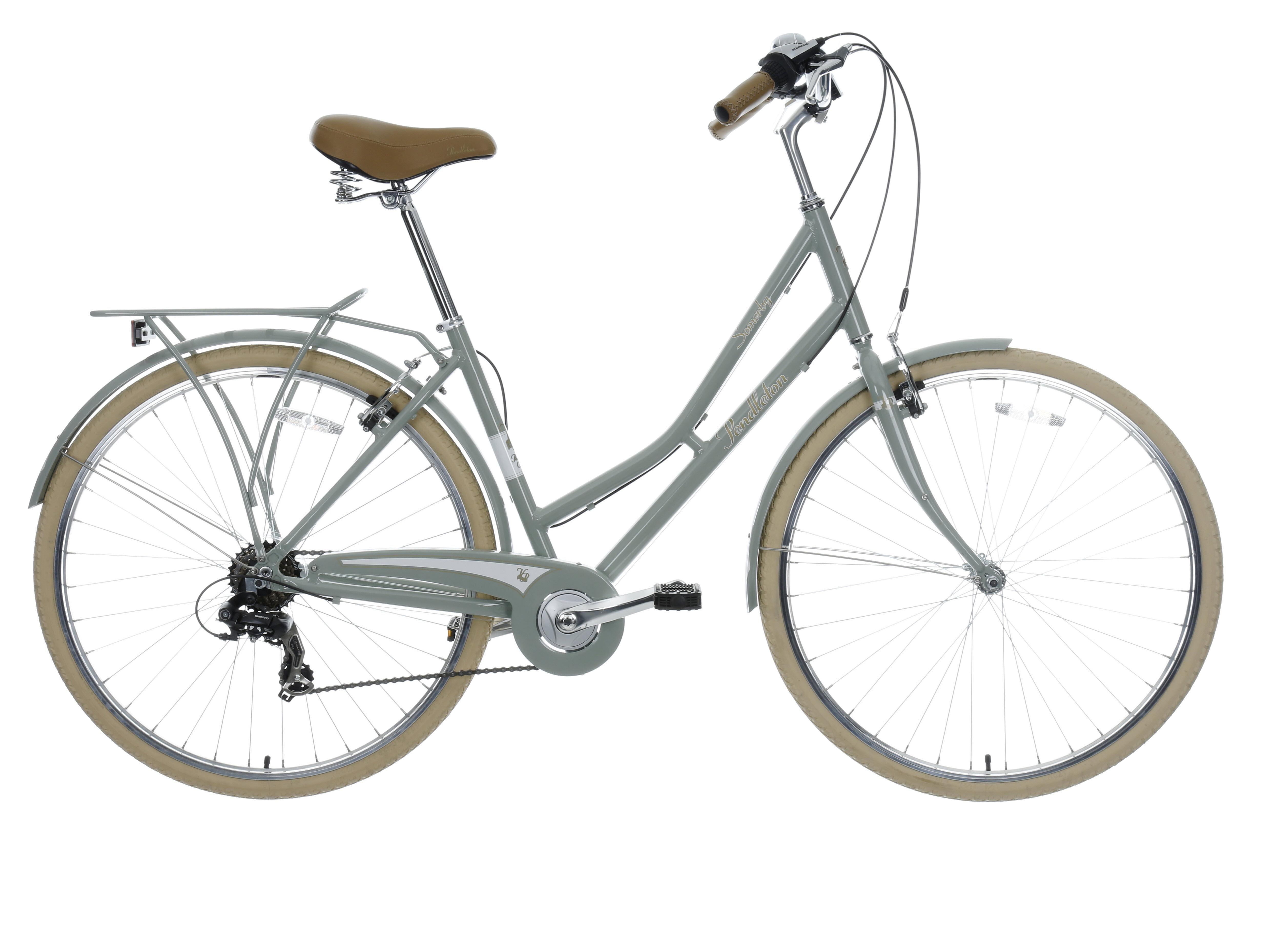 Pendleton Somerby Hybrid Bike Grey 17 Hybrid Bike Classic
