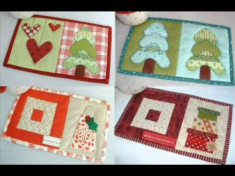 ▷ Christmas Quilt Pattern - Christmas Mug Rugs 10 Seasonal ... : seasonal quilt patterns - Adamdwight.com