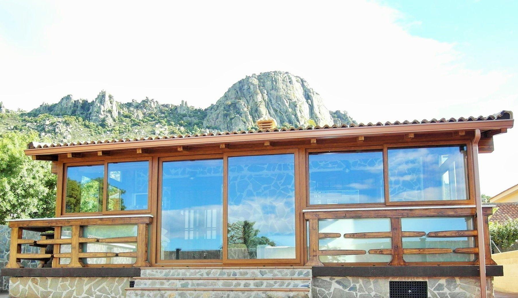 Una de nuestras casas prefabricadas en la sierra madrile a - Casas prefabricadas de acero ...