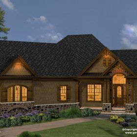 Westbrooks II Cottage House Plan H