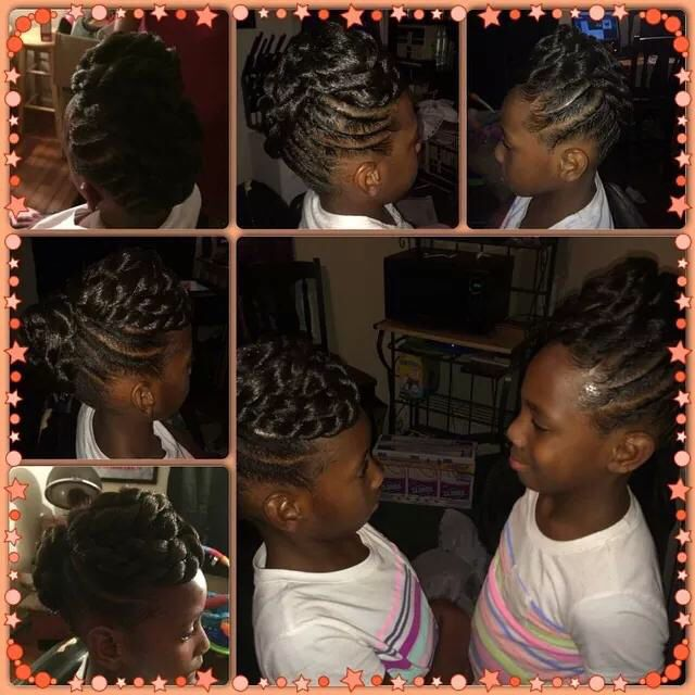 Black hairstyles for Kids | Kids Styles | Up Dos |Protective Style ...