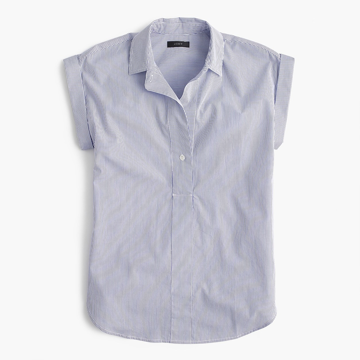 1775db85a Tall Short-Sleeve Popover In Shirting Stripe | Products