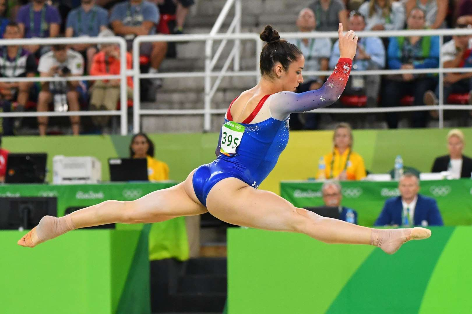 Aly Raisman USA Competes During To The Womens Floor Exercise Final In Rio
