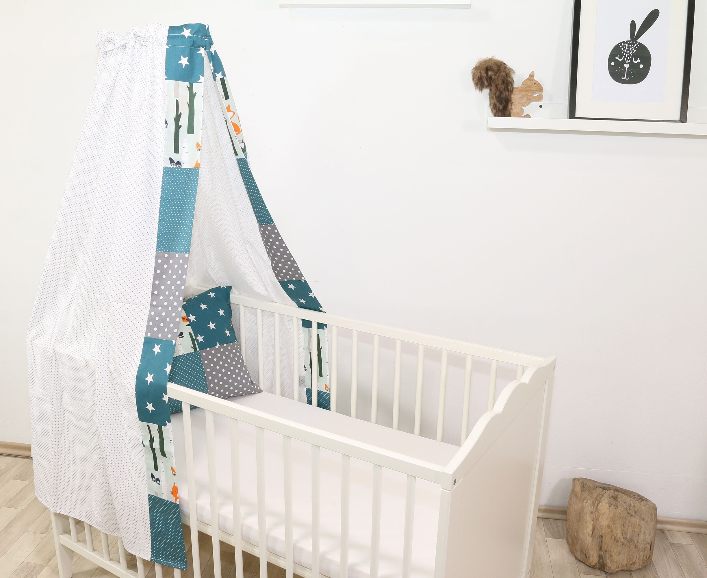 Babyzimmer Dekoration Und Einrichtung Mit Niedlichen Waldtieren Von