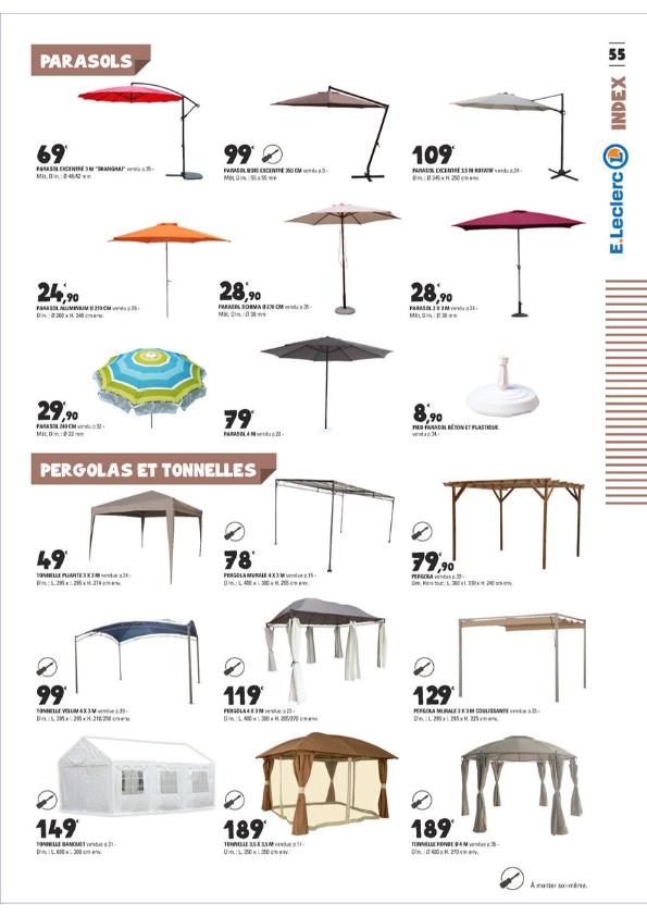 parasol deporte leclerc free shipping
