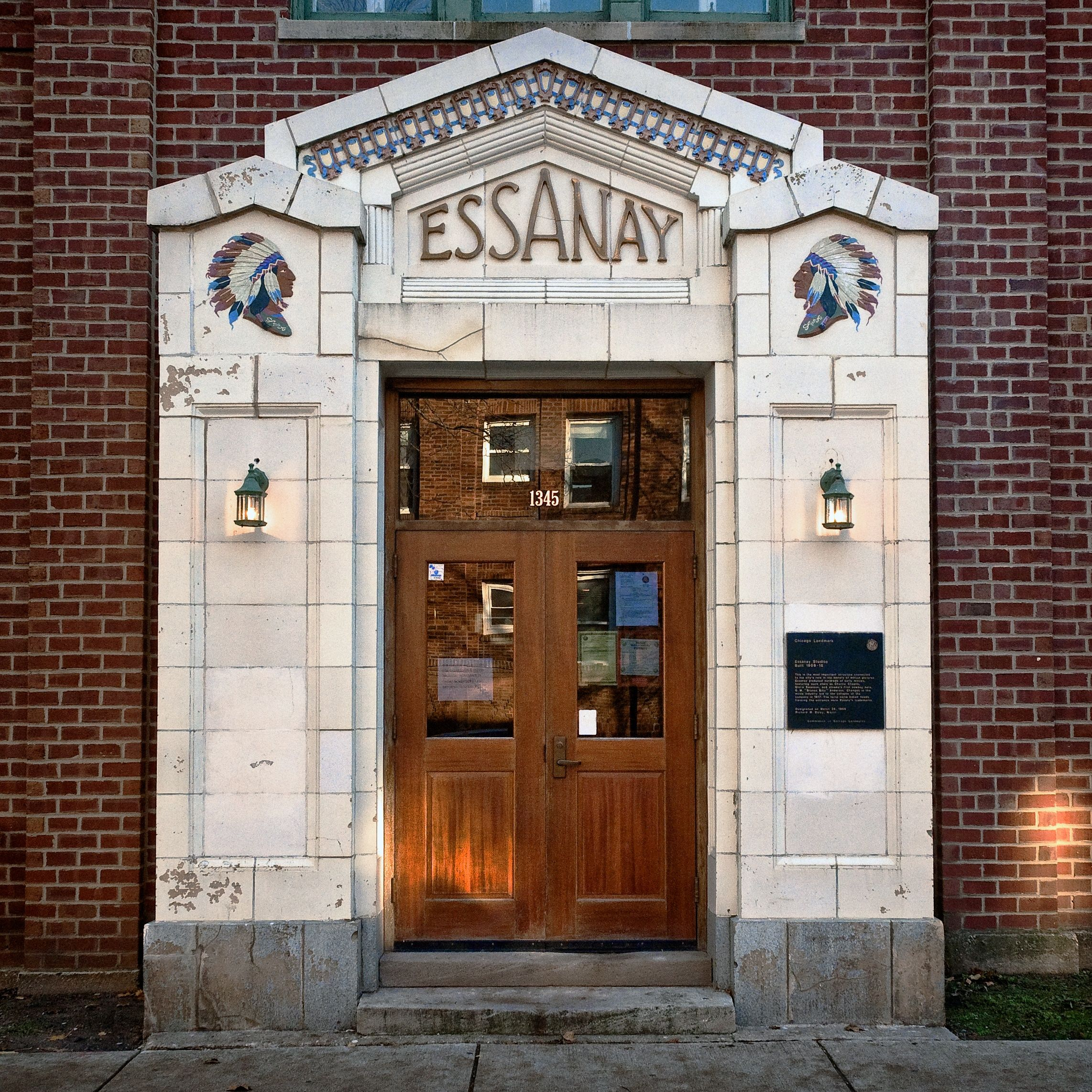 SIGHTS. Essanay Studios. Back before the talkies made silent film obsolete, Chicago reigned supreme as the number one producer of movie magic in the USA. Essanay churned out silent films with soon-to-be household names like WC Fields, Charlie Chaplin and Gilbert M Anderson (