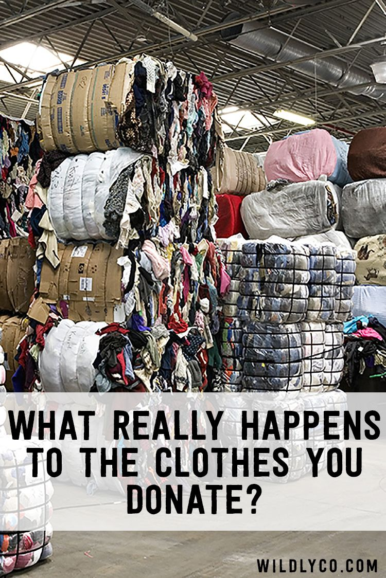Where do donated clothes really go? Thrifting, Charity