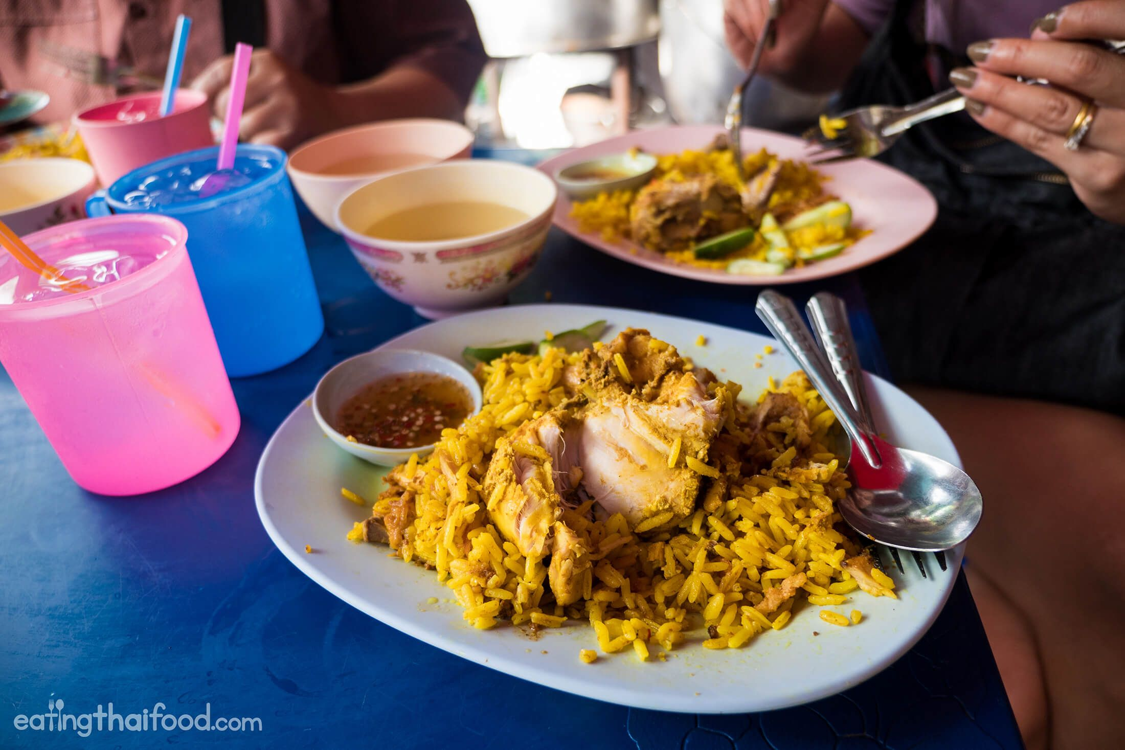 One Of Bangkok S Best Chicken Biryani At Silom Soi 20 Biryani Laos Food Halal