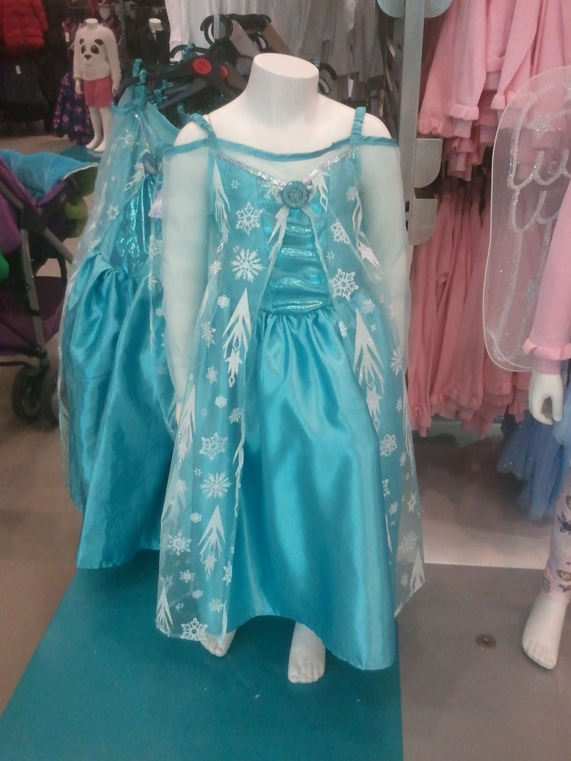 Vestido azul nina primark