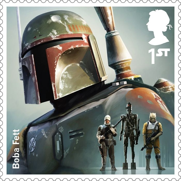 New Star Wars stamps - in pictures   Film   The Guardian