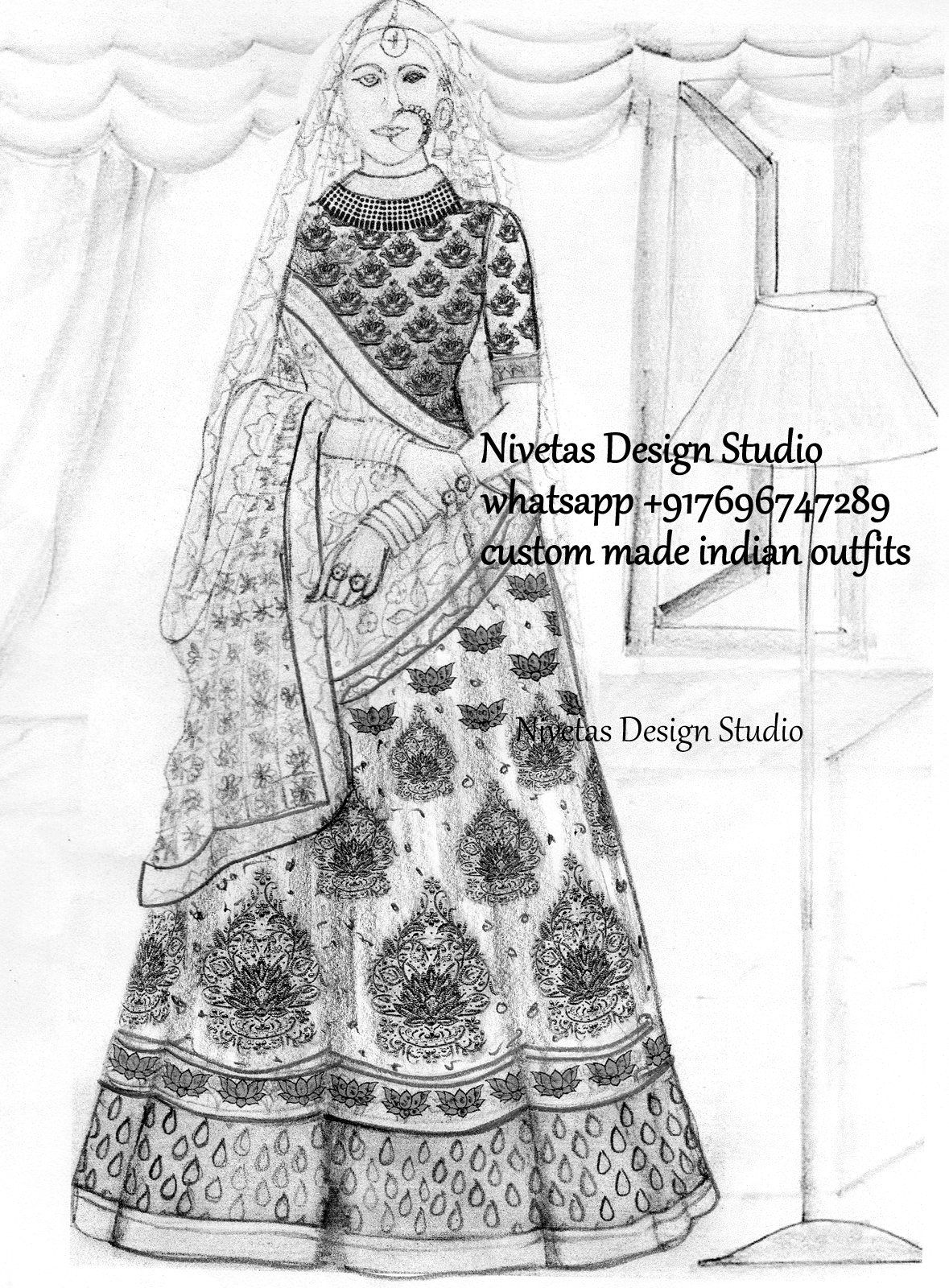 e747b442532 Custom made bridal lehenga nivetas queries nivetasfashion gmail whatsapp  also rh ar pinterest