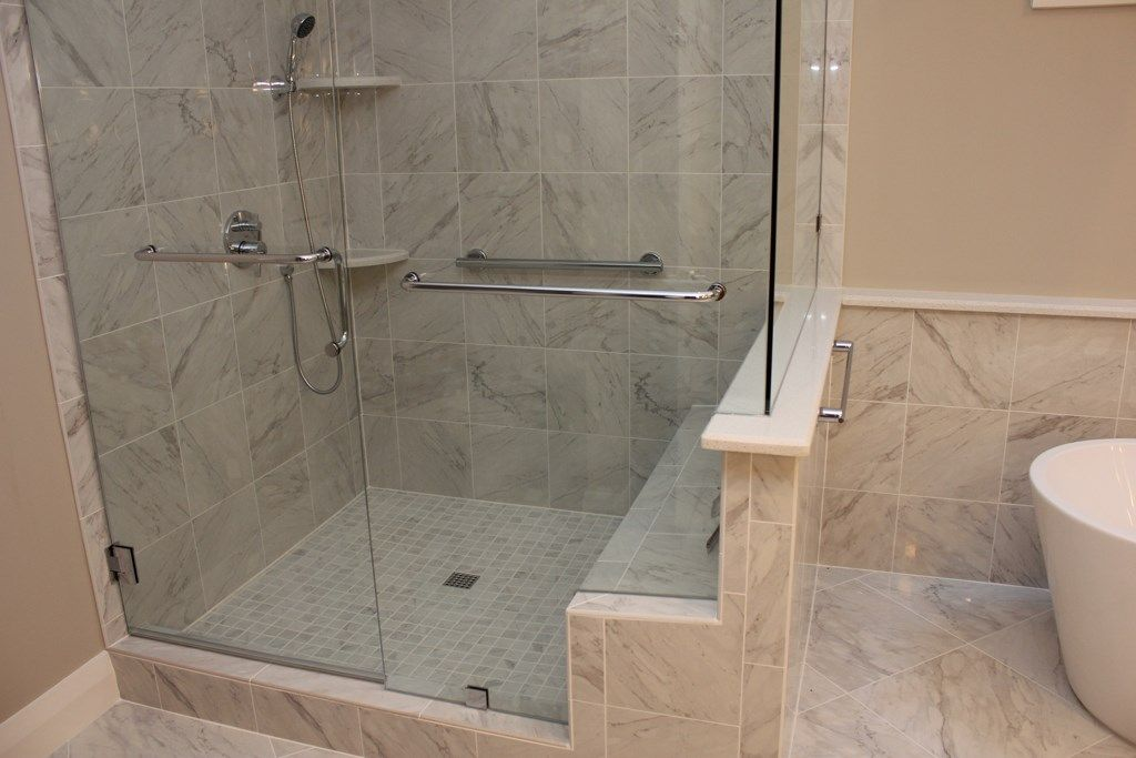 Portofino Tile Is Located In Cary Nc This Photo Is One Of The Dream Bathroom Renovations We H Bathroom Renovations Shower Enclosure Projects