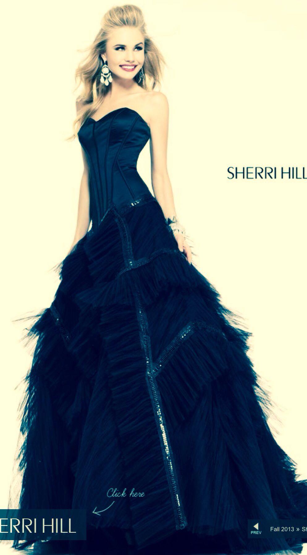 Sherri hill estilo pinterest prom