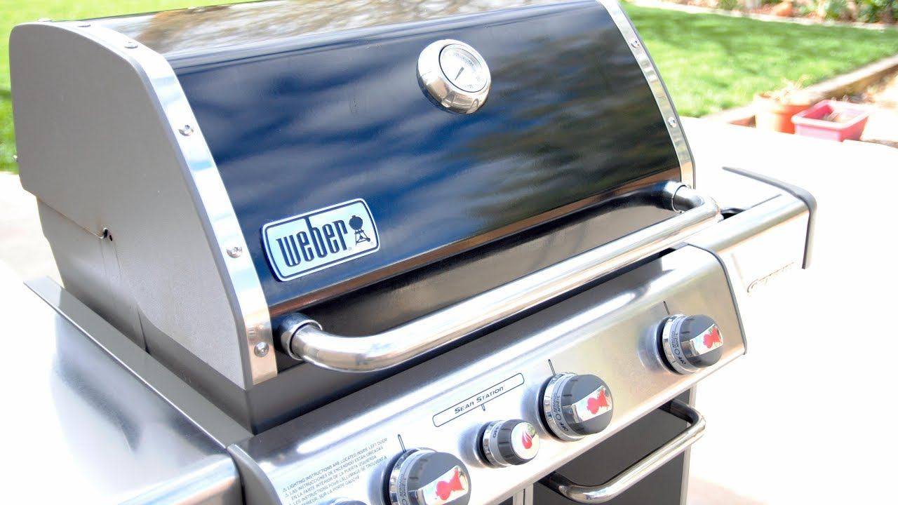 How To Clean A Weber Gas Grill Gas Grill Cleaning Tips Youtube