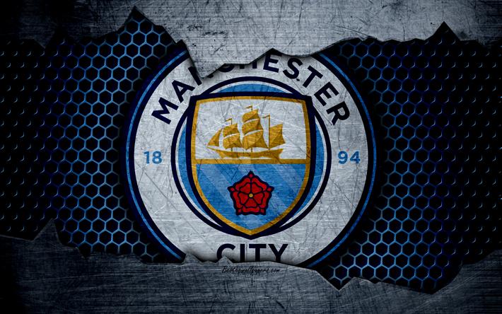 Manchester City Wallpaper: Download Wallpapers Manchester City, 4k, Football, Premier