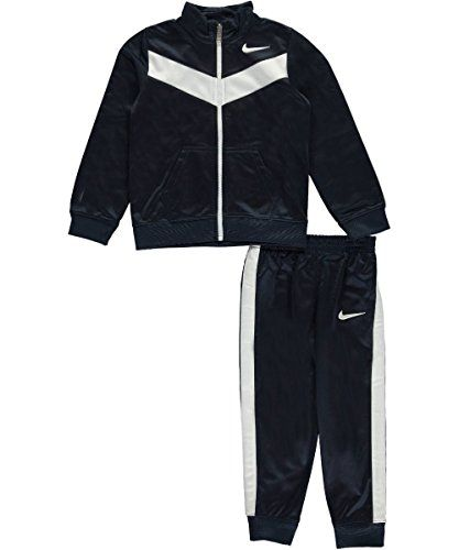 Nike Little Boys Toddler 2Piece Tracksuit Sizes 2T 4T obsidian 2t *** You  can