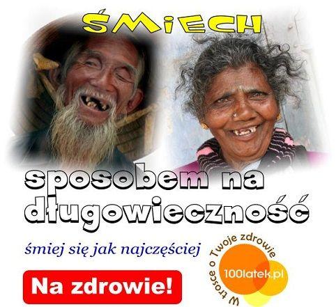 śmiech i dobry nastrój