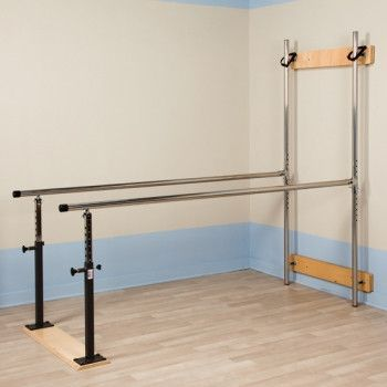 Physical Therapy Parallel Bars Folding Style 84 W Physical Therapy Therapy Room Clinic Design