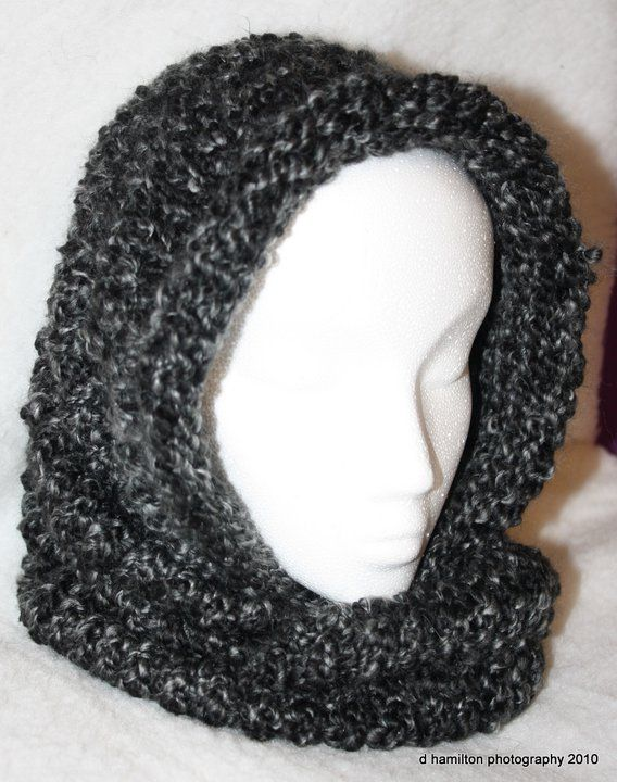 Cowl Loom Knitting Pattern : Knitted Cowl Loom, Products and Patterns