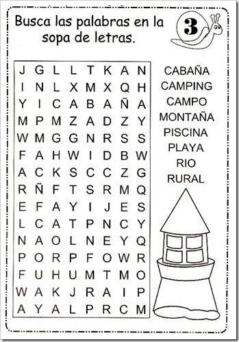 Sopa De Letras 2 Material De Aprendizaje Sopas De Letras Para Imprimir Gratis Sopa De Letras Para Niños Letras Para Niños