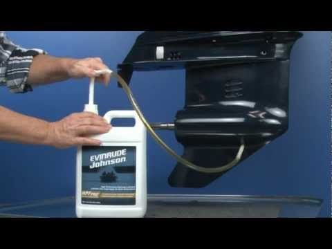 changing gearcase lubricant on evinrude and johnson outboards rh pinterest co uk Triumph 190 Bay Boat Triumph Boat Decals