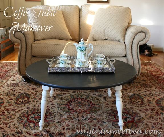 Coffee Table Makeover Themed Furniture Day Sweet Pea