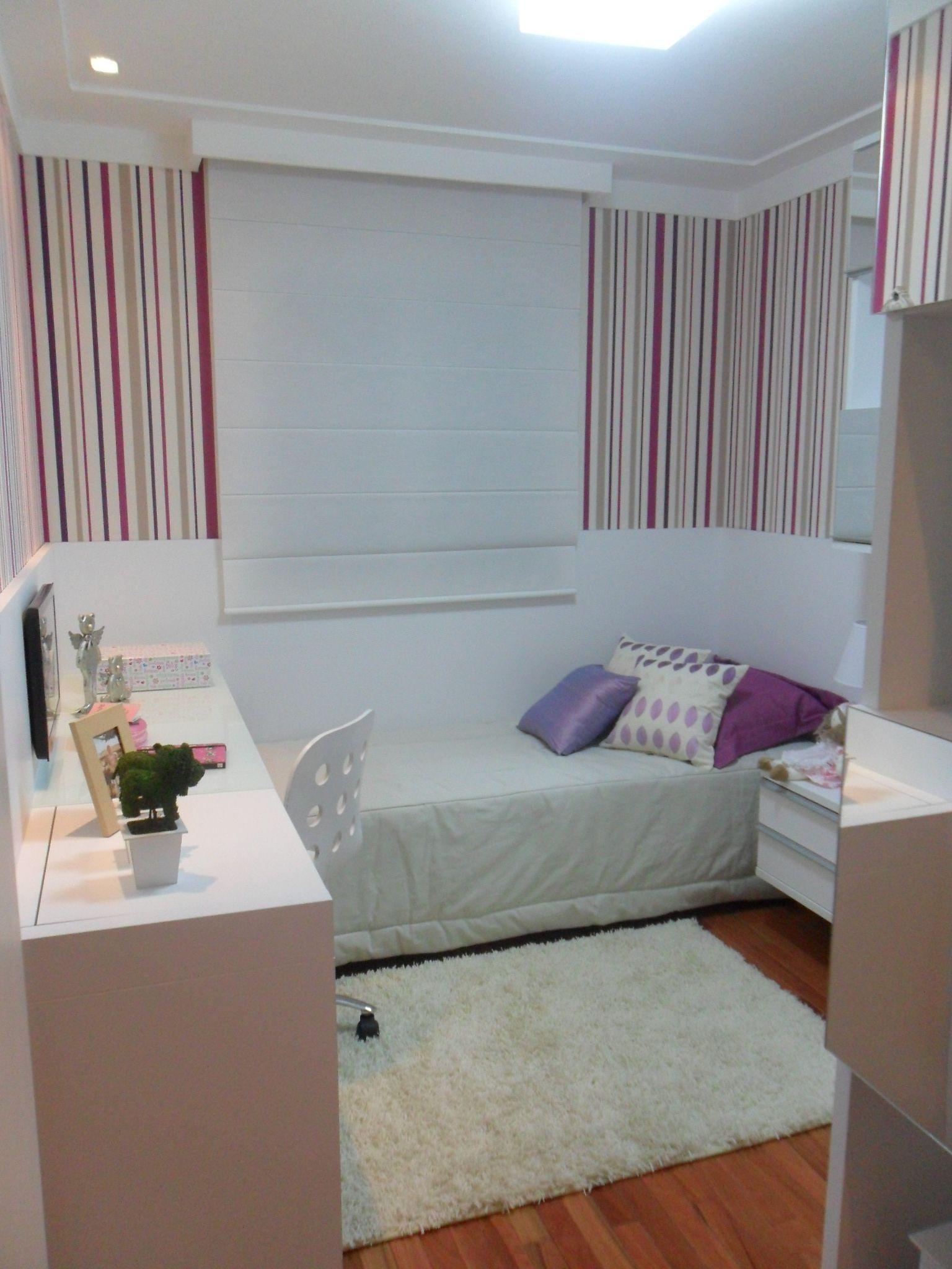 Quarto Solteiro Empreendimento Way Living Quarto Bedroom
